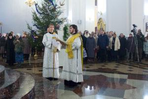 Рождественское богослужение в Свято-Успенском соборе