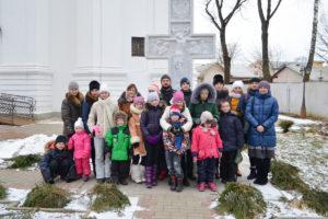 Воспитанники воскресной школы храма Воскресения Христова посетили Толочин