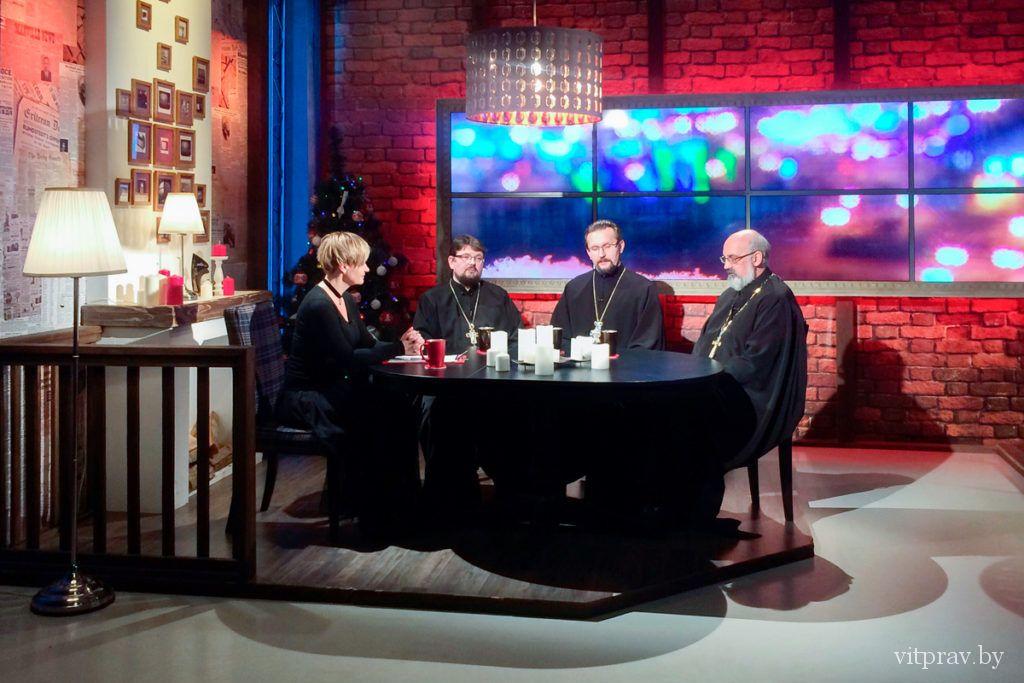 На телеканале «Витебск» вышла передача, посвященная 25-летию возрождения епархии и Рождеству Христову