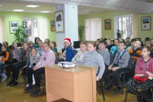 В библиотеке им М. Горького прошла рождественская встреча «Православные праздники января»
