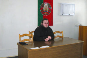 Иеромонах Серафим (Павлюченко) посетил Витебскую центральную городскую больницу