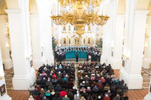 В Свято-Успенском кафедральном соборе прошел концерт духовной музыки