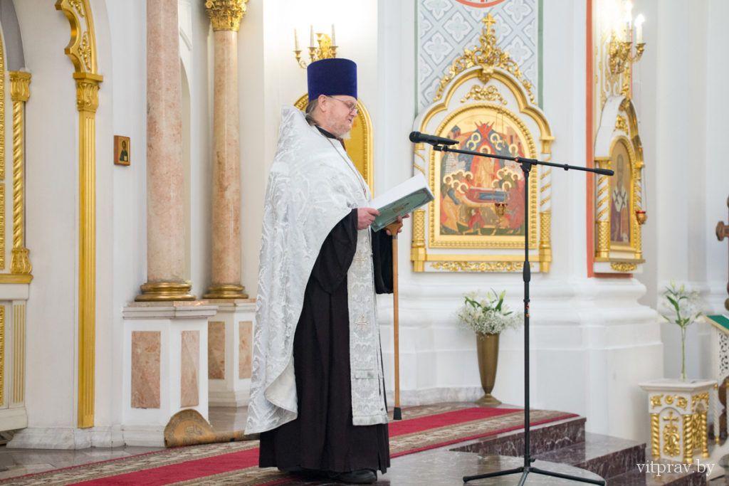 Архиепископ Димитрий возглавил Божественную литургию в Свято-Успенском кафедральном соборе