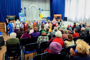 Витебском доме-интернате для престарелых и инвалидов прошло мероприятие, посвященное Рождеству Христову