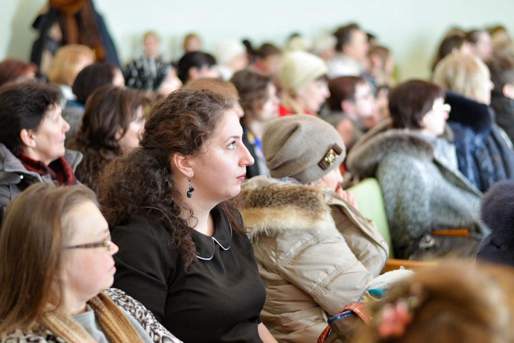 В актовом зале Витебской духовной семинарии прошла работа секции«Книга и чтение в духовно-просветительской деятельности библиотеки»
