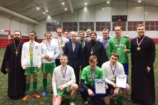 Команда Витебской духовной семинарии заняла 2-е место в международном футбольном турнире