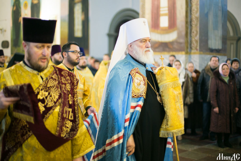 Руководство Витебской духовной семинарии приняло участие в Актовом дне Минской духовной семинарии
