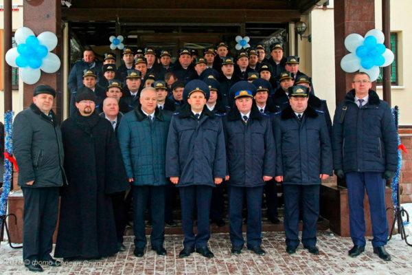 В Орше после ремонта открыли и освятили здание межрайонного отдела Следственного комитета