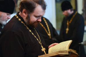 Открытие книжной выставки «Аз есмь всему миру свет» в Витебской духовной семинарии