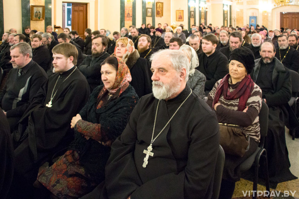 В Витебске прошло епархиальное собрание духовенства и мирян Витебской епархии