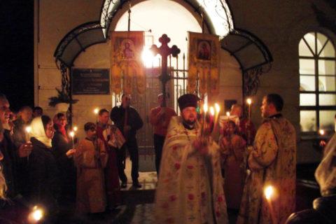 Лиозненщина встретила Христово Воскресение и Светлую седмицу