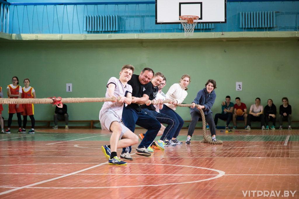 В Витебске прошли I Пасхальные открытые городские межвузовские спортивные игры