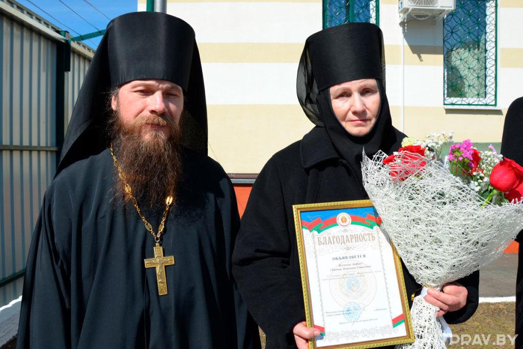 По инициативе Православной Церкви в Толочине открыли новое здание отделения Департамента охраны МВД