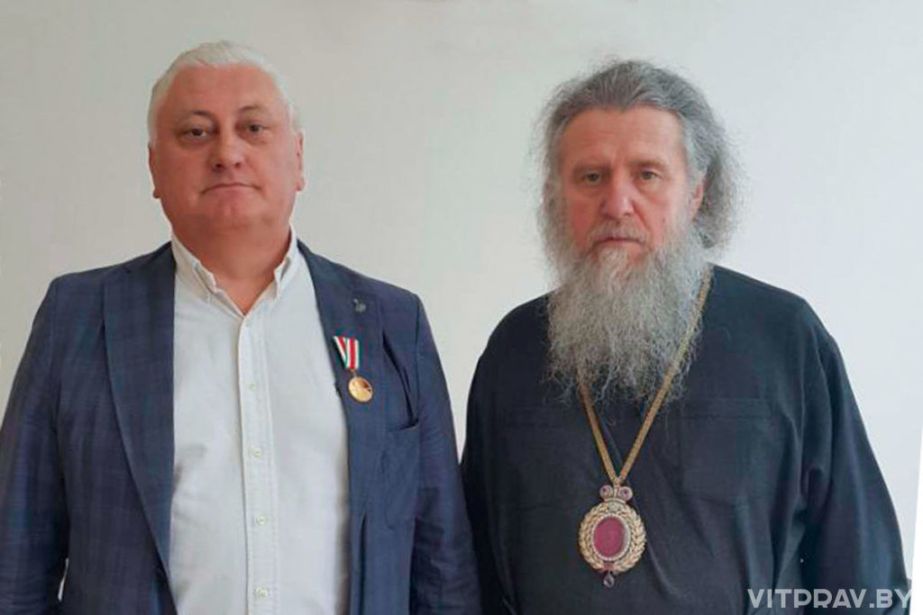 Архиепископ Димитрий вручил юбилейные медали Русской Православной Церкви
