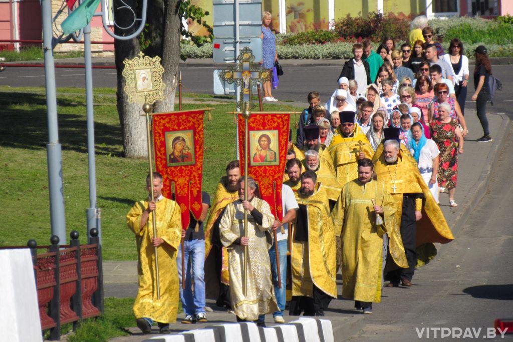 В 951 годовщину города Орши состоялся крестных ход