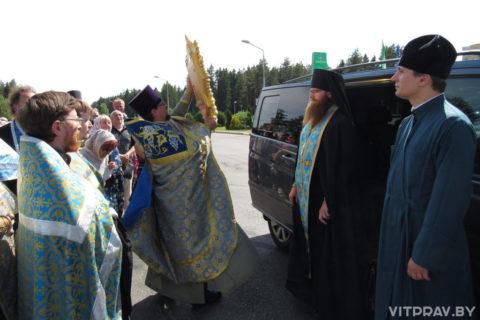 Копию Жировичской иконы Божией Матери доставили в Оршу