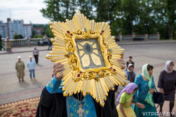 Встреча Жировичской иконы Божией Матери в Витебске. Фоторепортаж