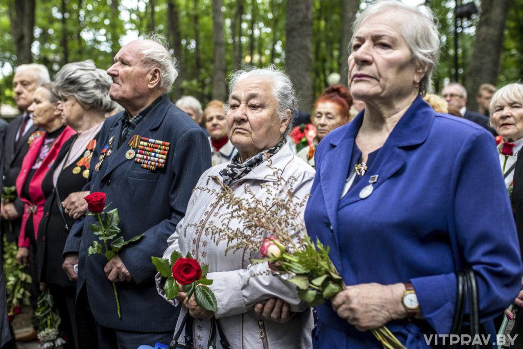 В Витебске почтили память погибших в Великой Отечественной войне