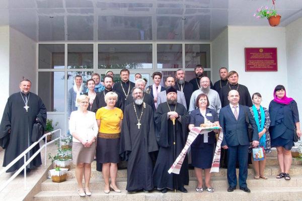 Иерей Виктор Гляд принял участие в рабочей встрече руководителей епархиальных отделов по церковной благотворительности и социальному служению