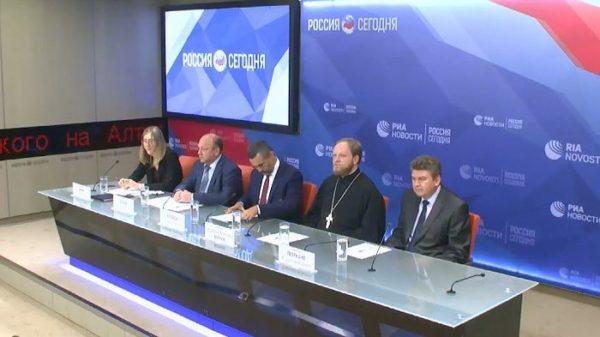 В Москве прошла пресс-конференция, посвященная 1030-летию Крещения Руси
