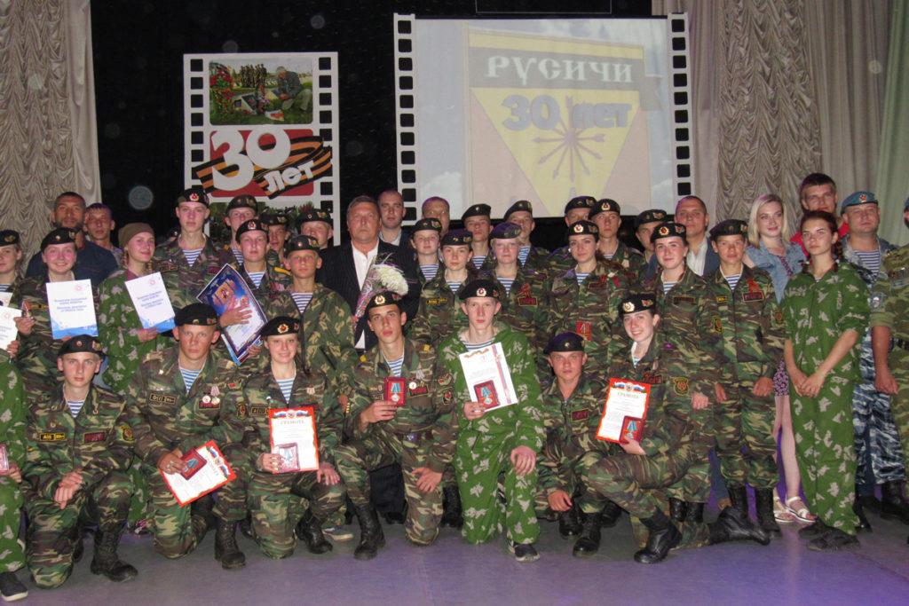 В Орше прошел большой концерт случаю юбилейного торжества военно-патриотического клуба