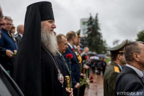 Архиепископ Димитрий принял участие в параде ко Дню Независимости Республики Беларусь в Витебске
