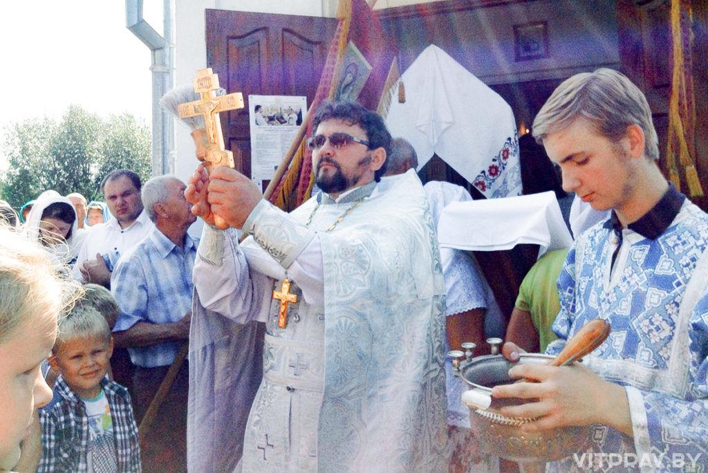 Престольный праздник отметили в Преображенском храме города Барани