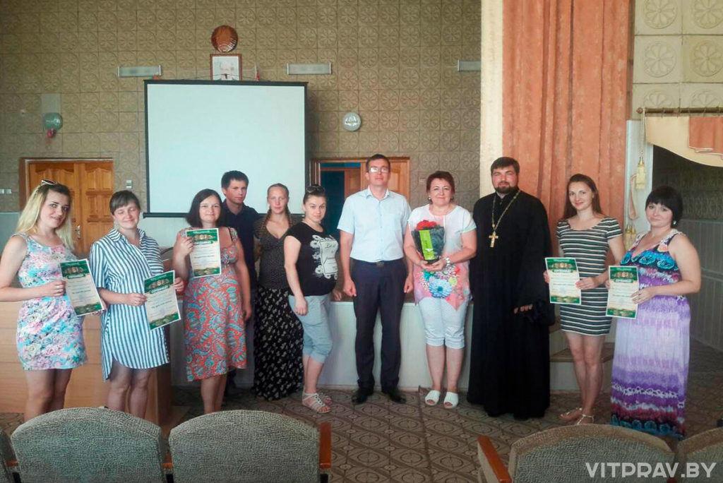 Священнослужитель поздравил с круглой датой лепельскую «Школу Материнства»