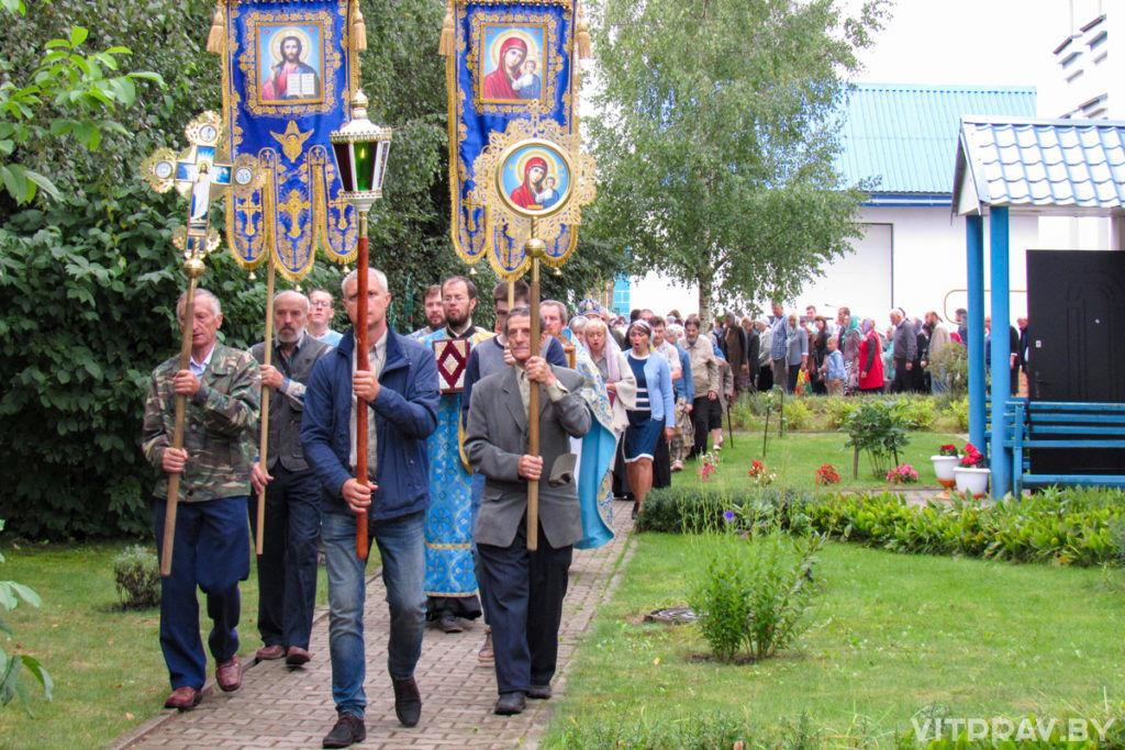 В Свято-Успенском женском монастыре города Орши отметили престольный праздник