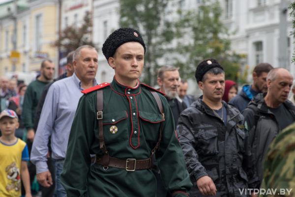 Крестный ход в день праздника Успения Пресвятой Богородицы. Фоторепортаж