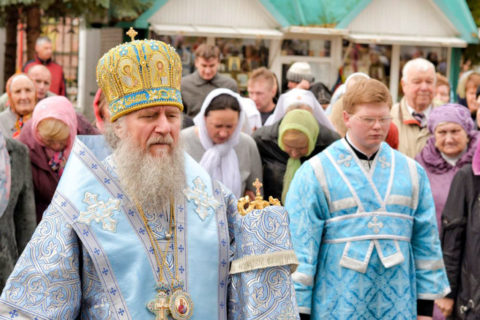 Архиепископ Димитрий возглавил престольные торжества в городе Орше