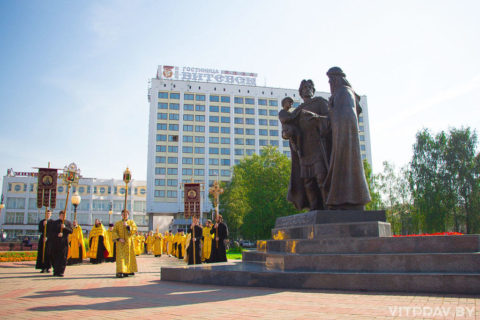 12 сентября в Витебске по случаю дня памяти святого благоверного князя Александра Невского состоится крестный ход