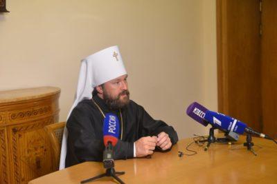Митрополит Волоколамский Иларион: Нынешняя ситуация грозит расколом Вселенскому Православию