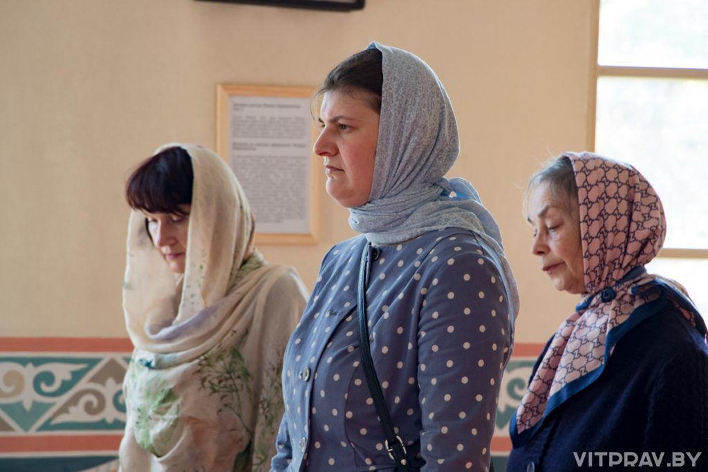 Прошли вступительные экзамены в Витебское женское духовное училище