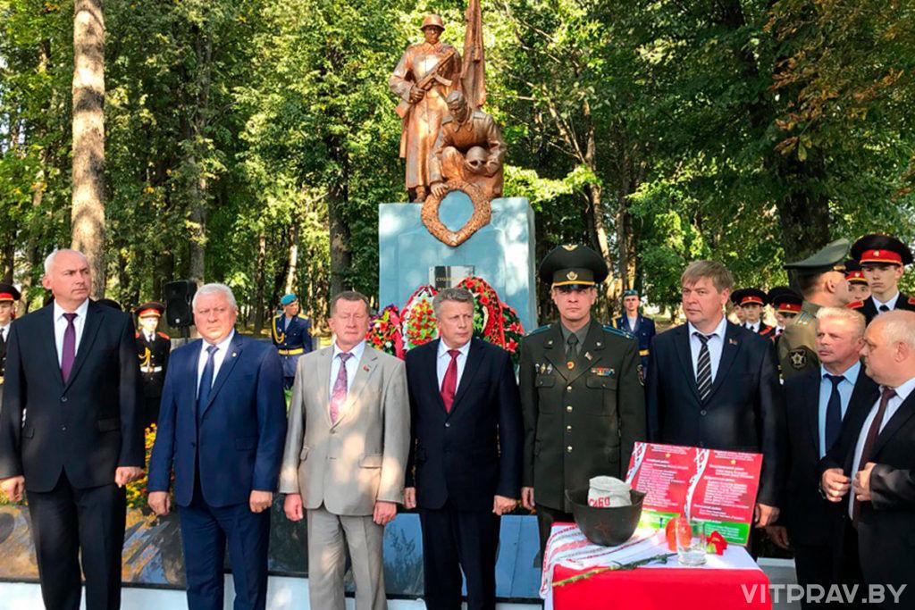 Представители Витебской епархии приняли участие в митинге в агрогородке Вороны