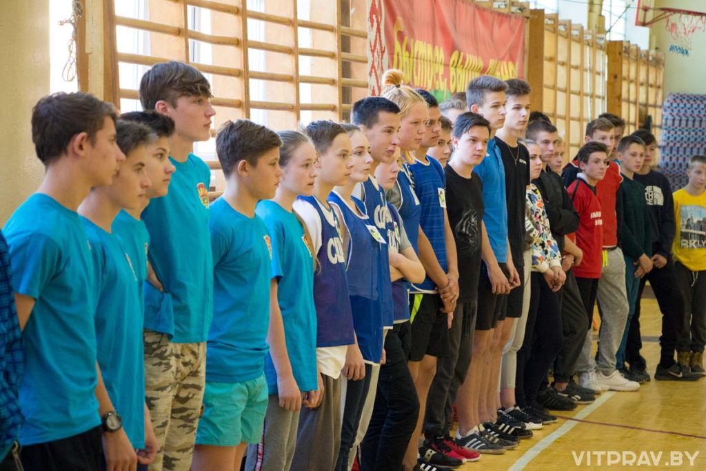 Руководитель отдела спорта и туризма принял участие в открытии городской юношеской спартакиады