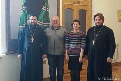 Представители Витебской епархии с рабочим визитом посетили Смоленск