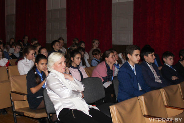 В Чашниках для учащихся 8 - 9 классов прошёл кинолекторий «Поговорим о любви!»