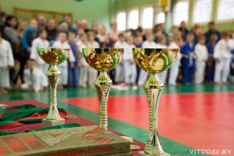В Витебске прошли детские соревнования по дзюдо на призы Витебской епархии