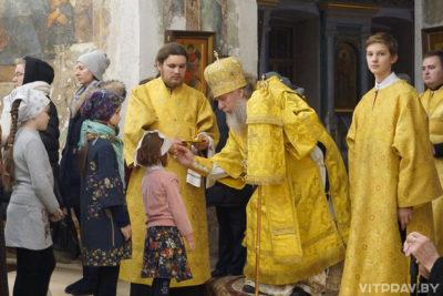 Архиепископ Димитрий возглавил всенощное бдение в храме святой великомученицы Ирины в Москве