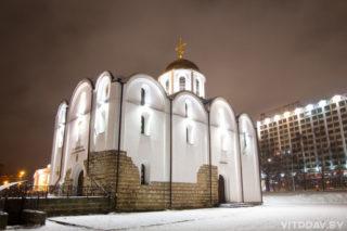 Пасхальная полунощница начнётся 27 апреля в 23:00. Пасхальная утреня и Божественная литургия — 28 апреля в 00:00. Поздние Божественные литургии — 28 апреля в 7:00 и в 10:00.  В храме святого благоверного князя Александра Невского Пасхальная полунощница начнётся 27 апреля в 23:00, Божественная литургия - 28 апреля в 0:00. Адрес: г. Витебск, ул. Замковая, 1а.