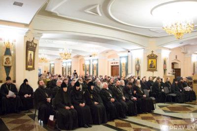 В Витебске прошло ежегодное отчётное собрание духовенства и мирян Витебской епархии