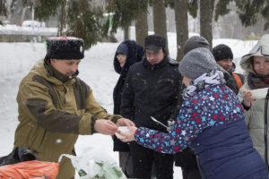"""Святочные гулянья в православном лагере """"Дружба"""""""