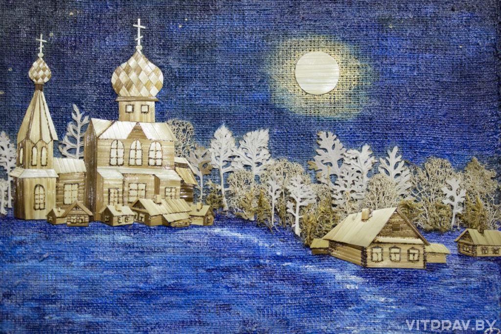 В Витебске торжественно открылась выставка-конкурс детского творчества «Рождественские мотивы»