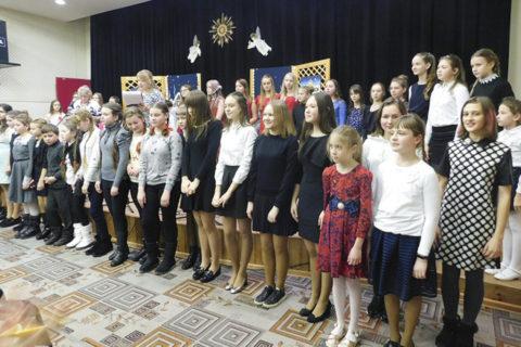 """""""Свет Вифлеемской звезды"""" собрал детей и молодежь Городка и Городокского района"""