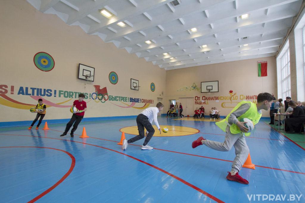 В Витебске прошли II Рождественские Суворовские спортивные игры для подростков