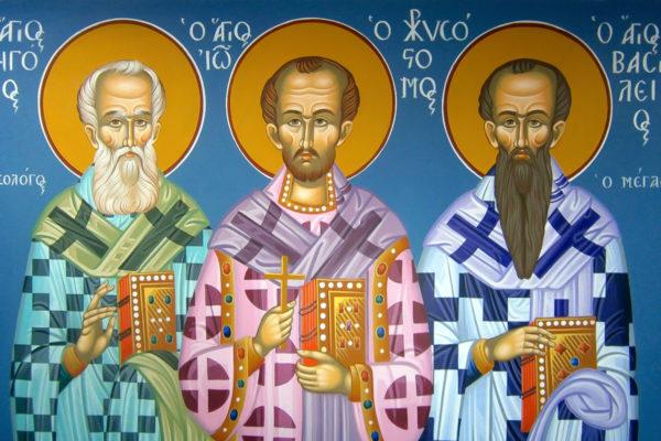 11 января в храм святителя Василия Великого в Билево прибудут мощи трёх святителей для поклонения верующих