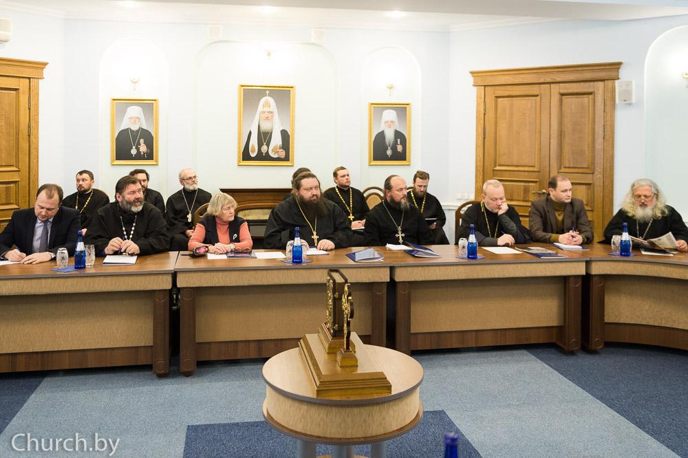 В Минске состоялось заседание Оргкомитета по празднованию 180-летия Полоцкого Собора 1839 года