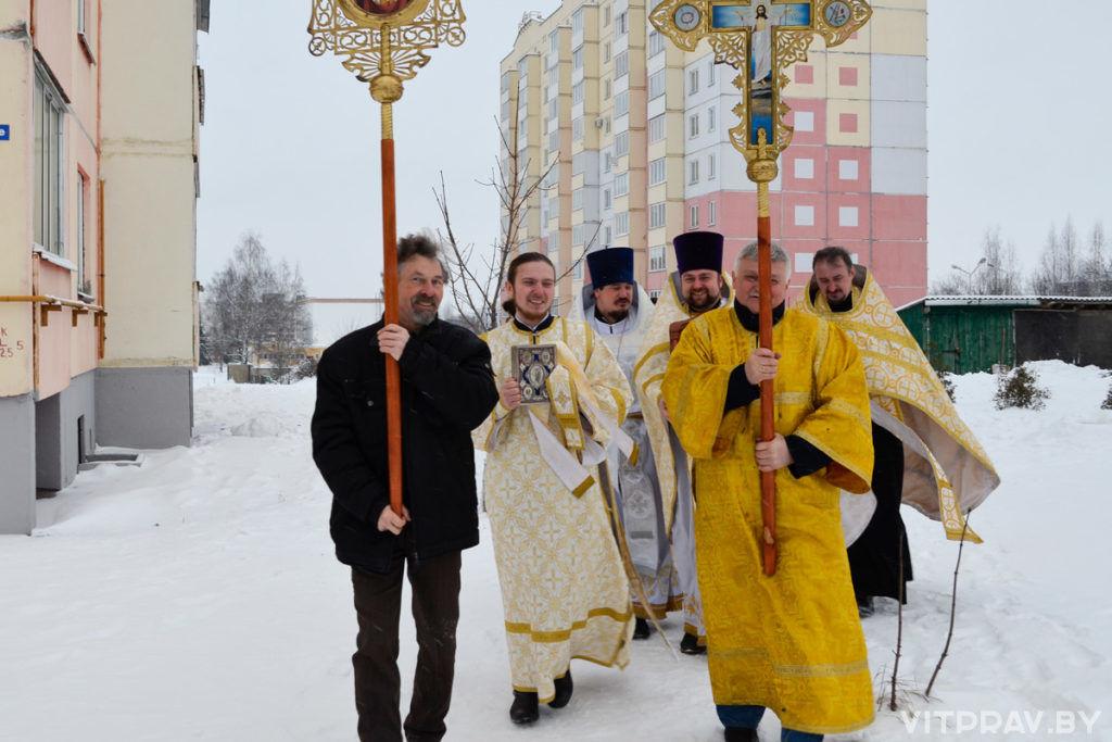 В храме Рождества Христова города Витебска отметили престольный праздник