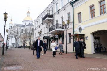 Посол России в Беларуси посетил Свято-Успенский собор Витебска и встретился архиепископом Димитрием